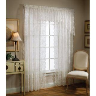 Petite 1-Panel Fleur Window Panel
