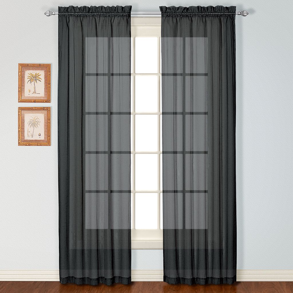 United Curtain Co. Charleston Window Curtain