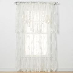 Butterfly Lace 1-Panel Window Panel