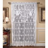 Butterfly Lace 1-pack Window Curtain