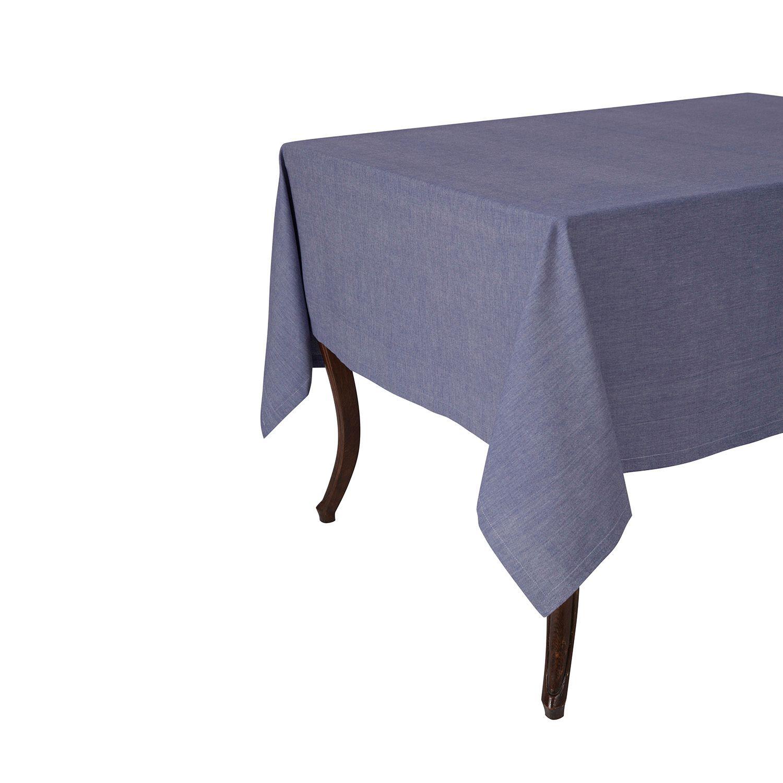 KAF HOME Chambray Tablecloth