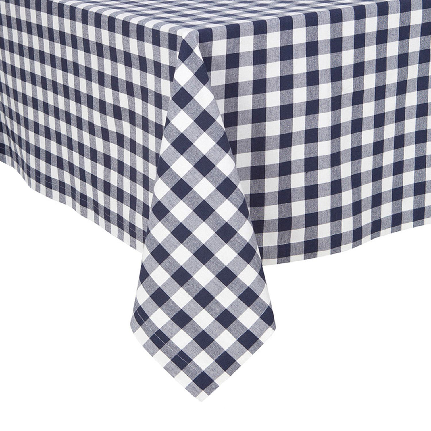 Delightful KAF HOME Buffalo Check Tablecloth