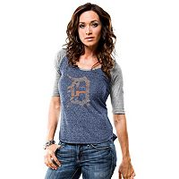 Women's Majestic Detroit Tigers Athletic Greatness Tee