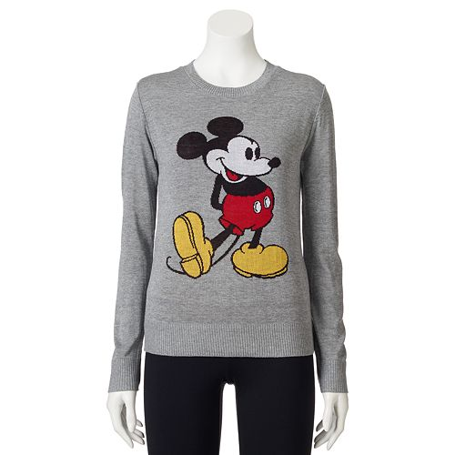 Disney's Mickey Mouse Juniors' Intarsia Sweater