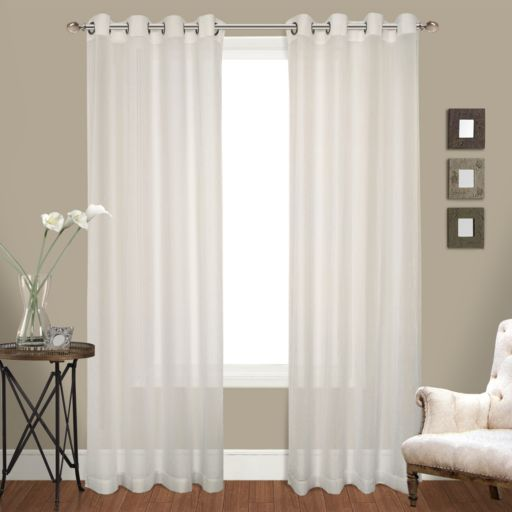 United Curtain Co. 2-pack Venetian Window Curtain