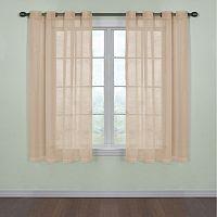 Arm & Hammer Window CurtainFresh Odor-Neutralizing Voile Window Curtain