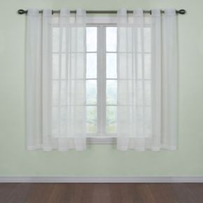 Arm and Hammer Window CurtainFresh Odor-Neutralizing Voile Window Curtain