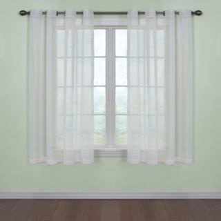 Arm & Hammer 1-Panel Fresh Odor-Neutralizing Voile Window Curtain