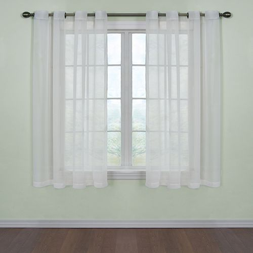 Arm & Hammer Window CurtainFresh Odor-Neutralizing Voile Window Curtain