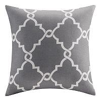 Madison Park Westmont Fretwork Print Throw Pillow