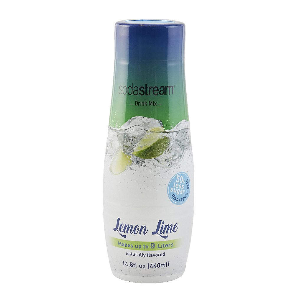 SodaStream Fountain Style 14.8-oz. Crafted Lemon Lime Sparkling Drink Mix