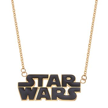 Star Wars Stainless Steel Logo Necklace