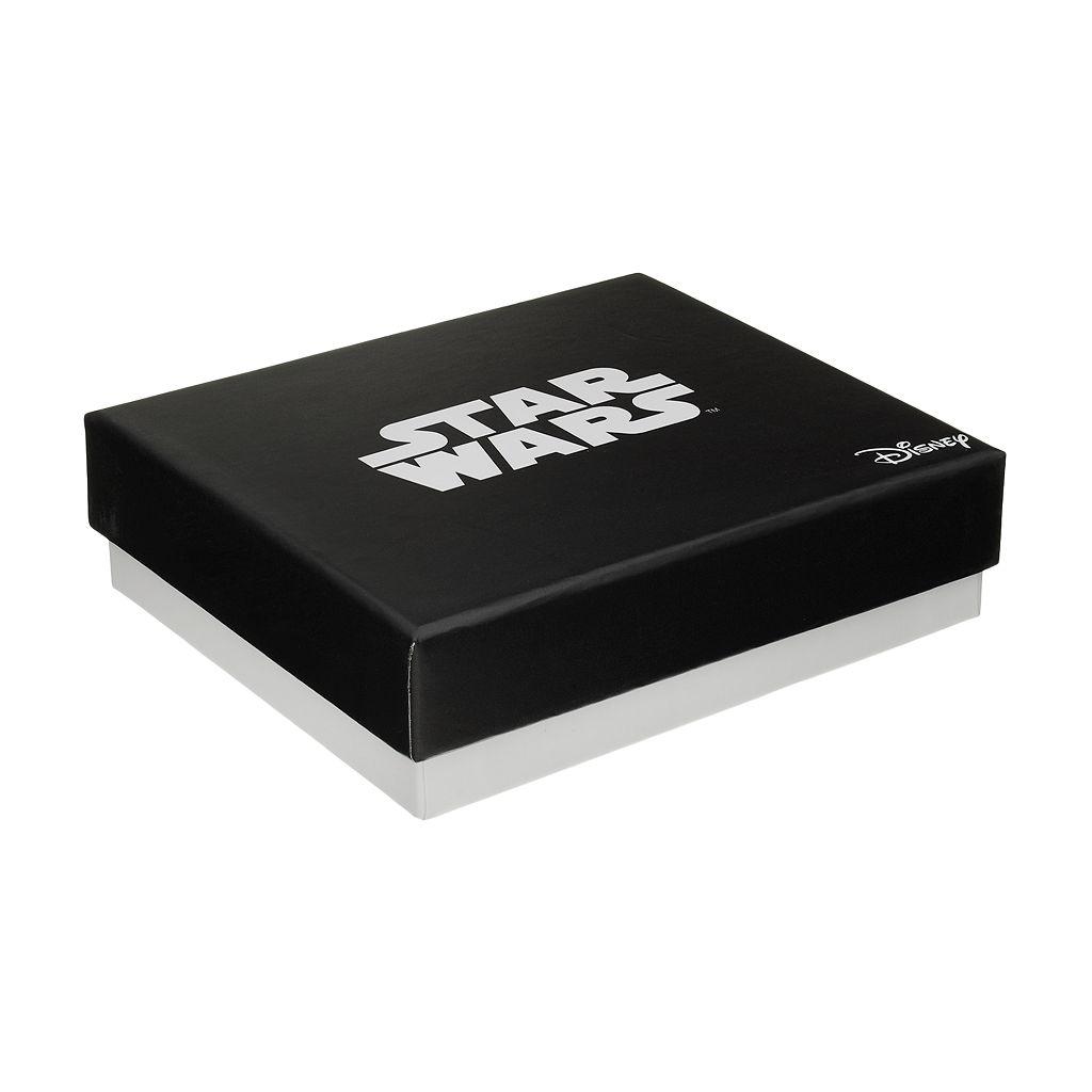 Star Wars Stainless Steel Stormtrooper Charm Bangle Bracelet