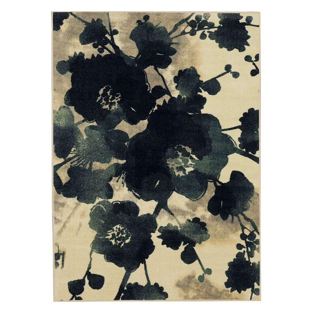 Mohawk® Home Stream of Blues Water Floral Rug