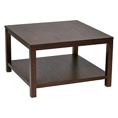 Ave Six Merge 30-in. Square Coffee Table