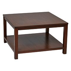 Ave Six Merge 30 in Square Coffee Table