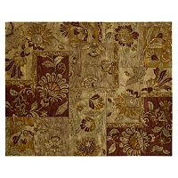 Nourison Jaipur Traditional Patchwork Floral Wool Rug