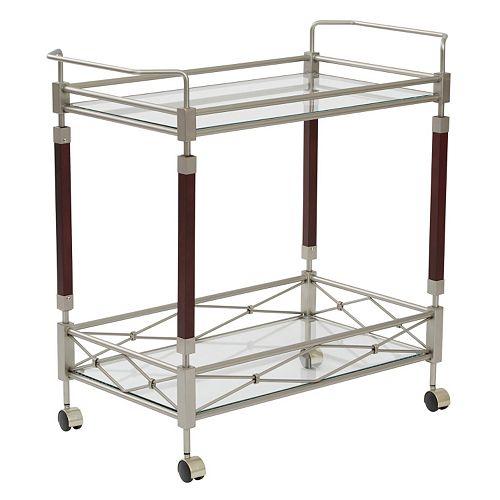 OSP Designs Melrose Serving Cart
