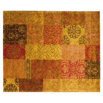 Nourison Jaipur Traditional Patchwork Floral Wool Rug