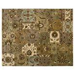 Nourison Jaipur Patchwork Floral Wool Rug