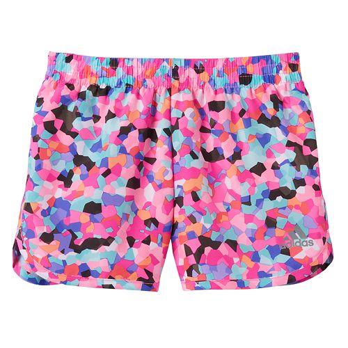 Girls 4-6x adidas Geometric Running Shorts a774f6c378