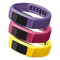 Garmin Vivofit 2 Large Fitness Bands (Canary / Pink / Violet)