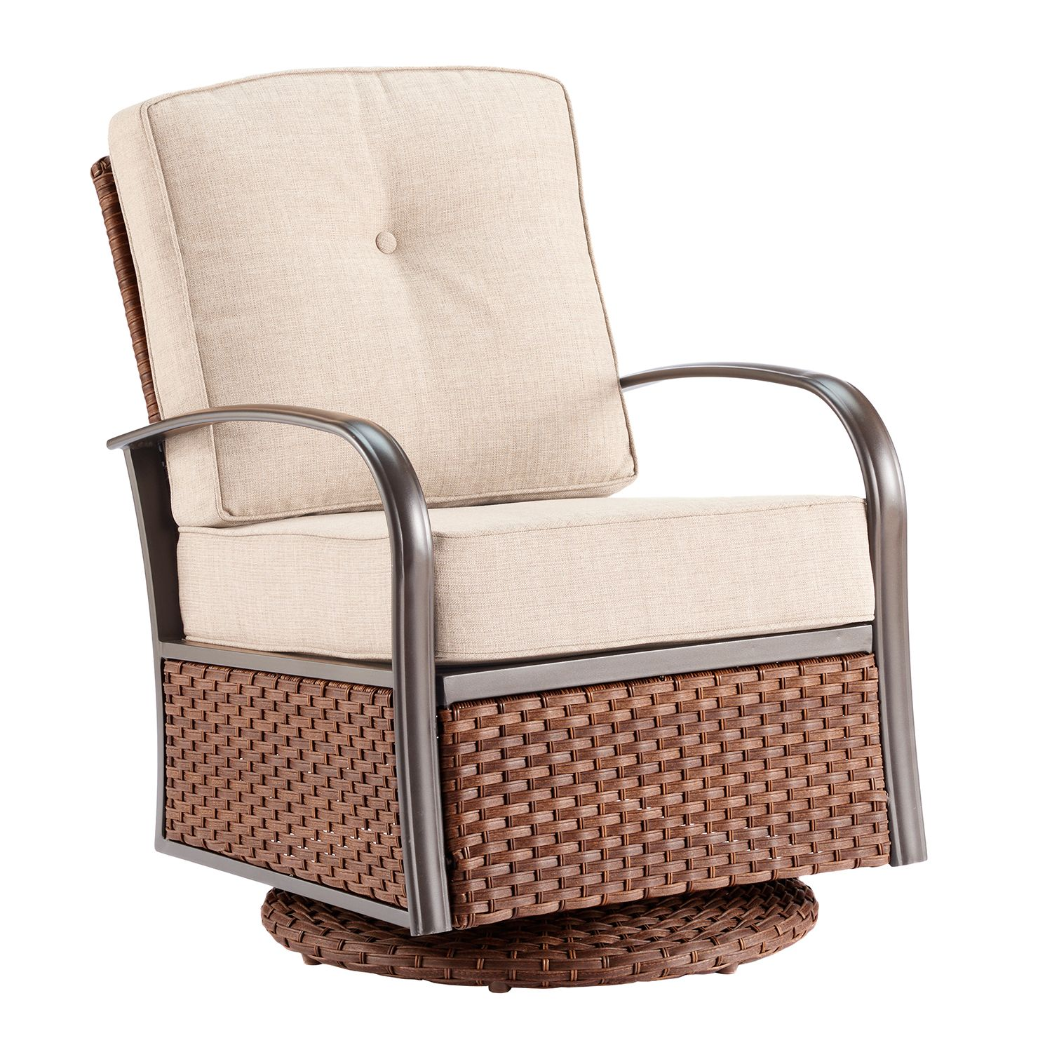 sonoma goods for life brockport swivel chair - Swivel Patio Chairs