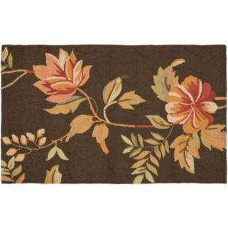 Safavieh Chelsea English Floral Hand Hooked Wool Rug - 3'9'' x 5'9''