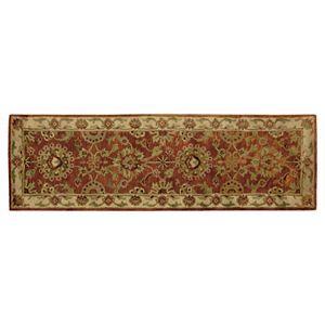 Nourison Jaipur Traditional Framed Floral Wool Rug