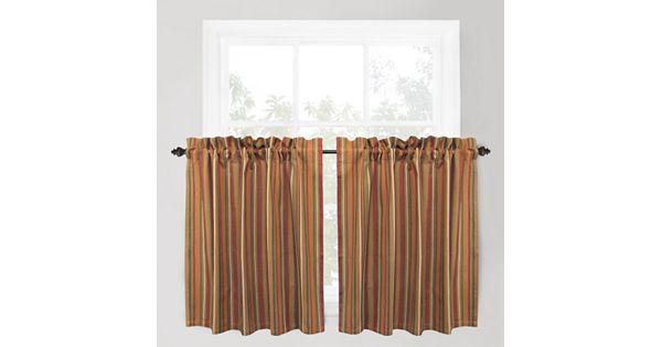 Kohl S Kitchen Curtains: Park B. Smith Raynier Tier Curtain Pair