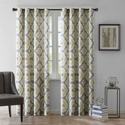 INK+IVY 1-Panel Ankara Window Curtain