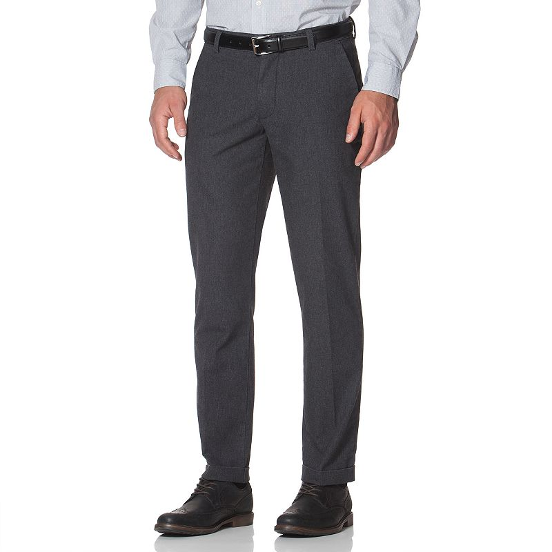 Men's Chaps Classic-Fit Flannel Flat-Front Pants