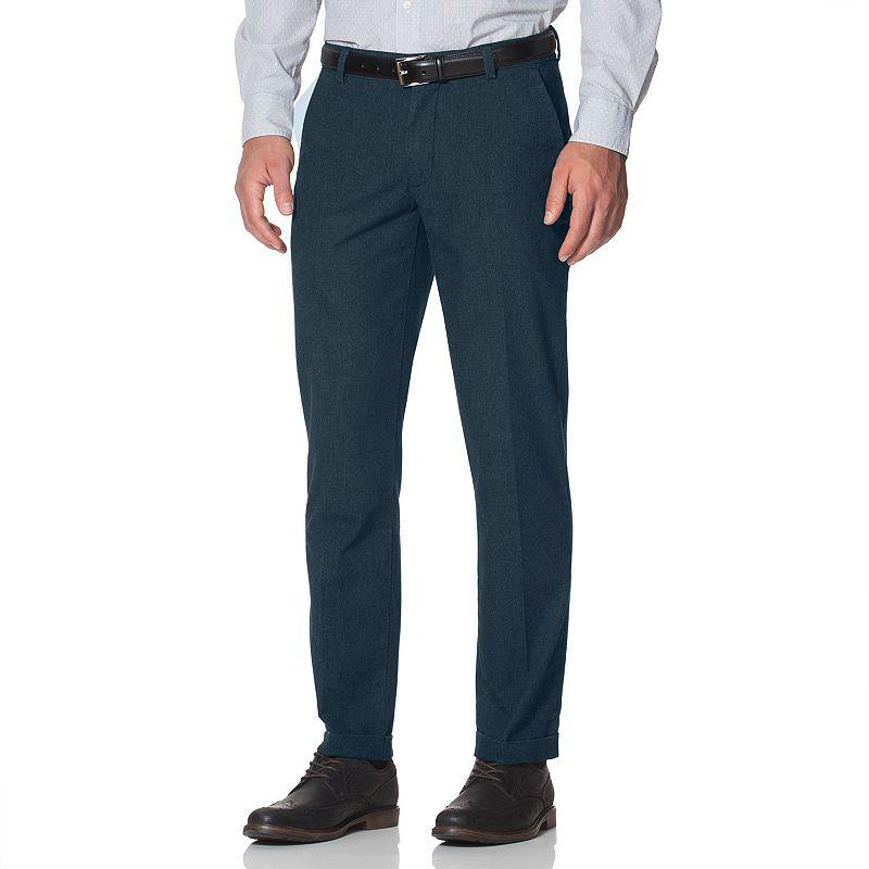 Men's Chaps Classic-Fit Flannel Flat-Front Pants