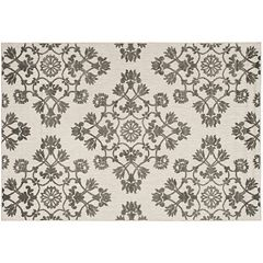 Safavieh Cottage Georgica Medallion Indoor Outdoor Rug