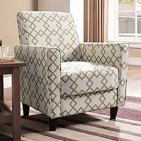 Henry 33.5''H x 28''W x 31''D Arm Chair (Pattern Soft Green Geo/ Pattern Indigo Geo) + $20 Kohls Cash
