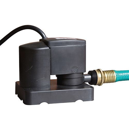 Blue Wave Dredger Jr. 350-GPH Automatic Above-Ground Pool Winter Cover Pump