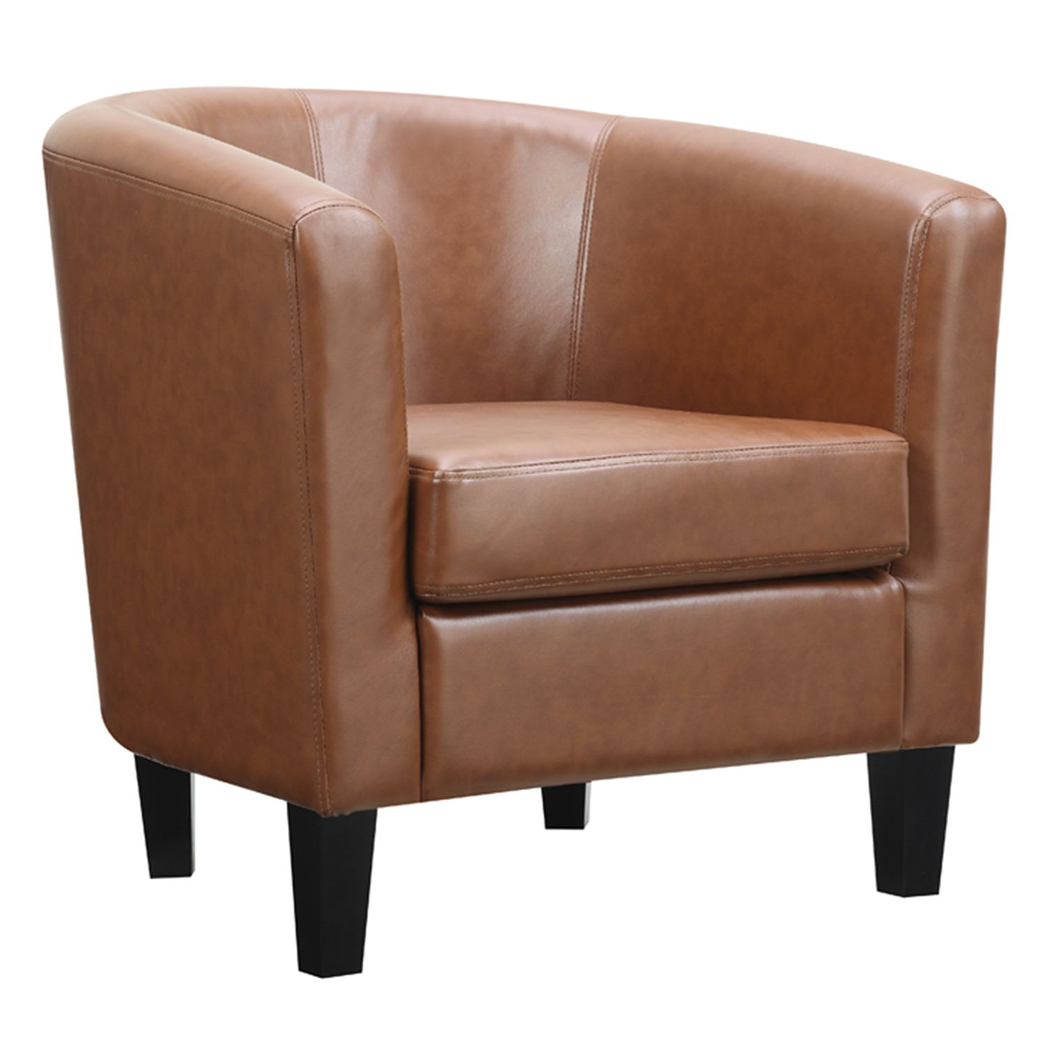 Ordinaire Riley Barrel Arm Accent Chair