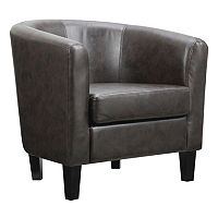 Riley Barrel Arm Accent Chair + Free $20 Kohls Cash Deals