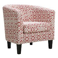 Riley Barrel Arm Accent Chair + $10 Kohls Cash
