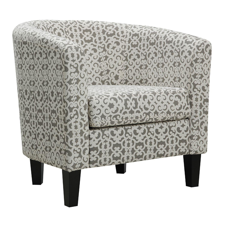 Wonderful Grey Accent Chair Gallery