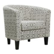 Riley Barrel Arm Accent Chair