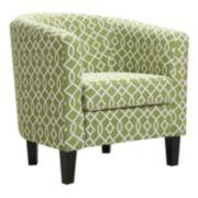 Riley Barrel Arm Accent Chair