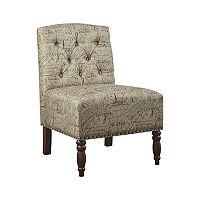 Madison Park Serena Accent Chair + Free $10 Kohls Cash Deals