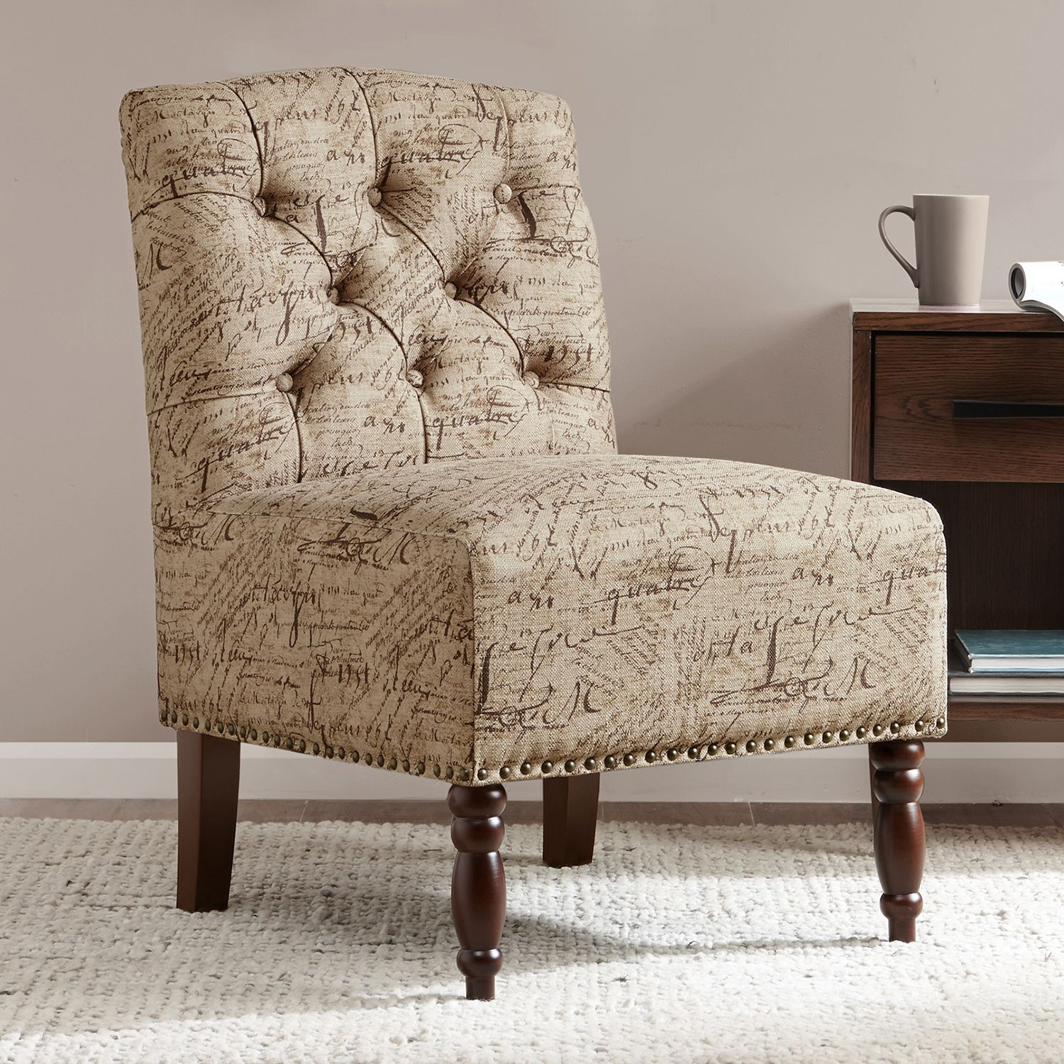 Printed Accent Chairs Affordable This Set Up By Robin Bruce
