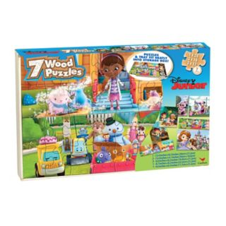 Disney Junior 7-pk. Wood Puzzles by Cardinal