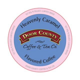 Door County Coffee & Tea Co. Single-Serve  Heavenly Caramel Medium Roast Coffee - 12-pk.