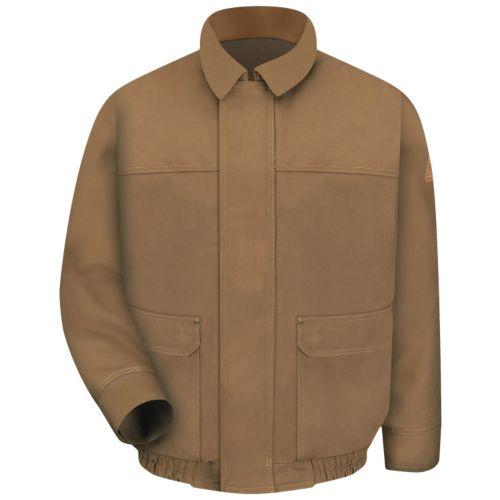 Men's Bulwark FR EXCEL FR ComforTouch Duck-Lined Bomber Jacket