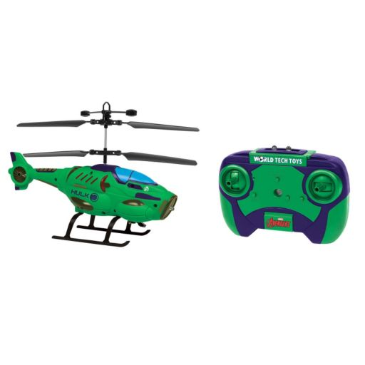 Marvel Avengers Hulk Remote Control Helicopter by World Tech Toys