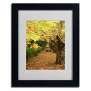 Trademark Fine Art ''Autumn'' Matted Framed Wall Art