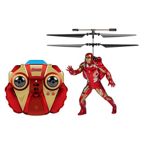Marvel Iron Man Remote Control Helicopter by World Tech Toys